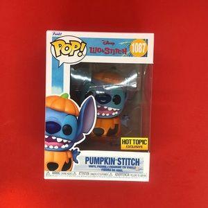 Funko Pop! Pumpkin Stitch 1087 Hot Topic Exclusive